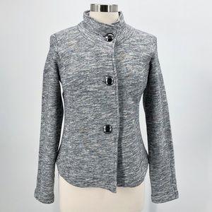CAbi Hourglass Heather Grey Cardigan Jacket
